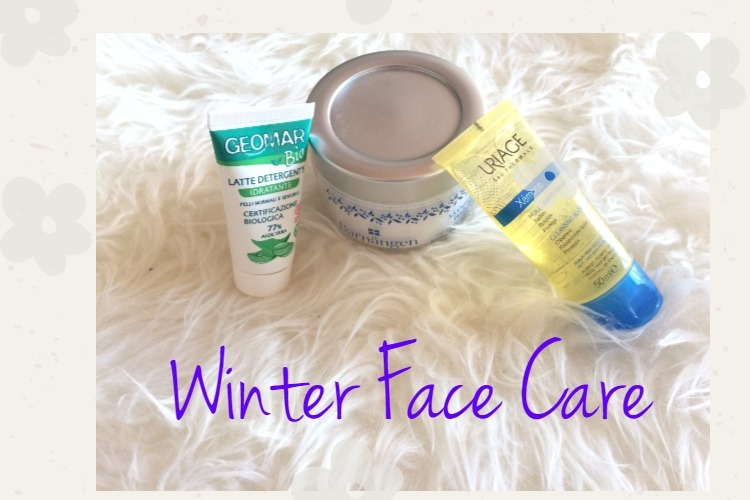 My winter face cares routine 1