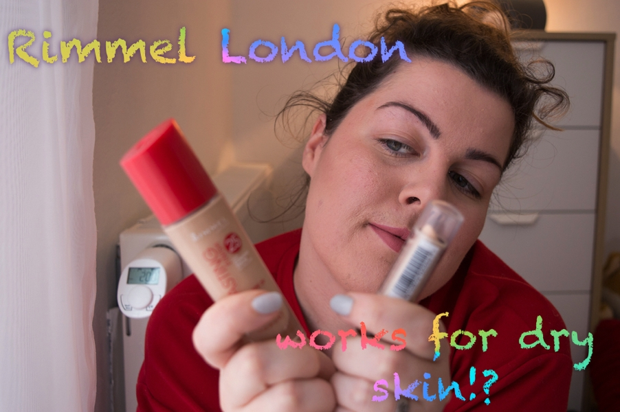 Rimmel London – works for dry skin?!